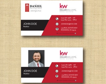 Digital File | Custom Business Card Design Graphic | Any Color Any Company