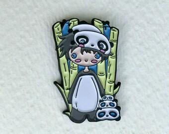 Tarepanda, Limited Edition enamel pin, lapel pin, flair, brooch