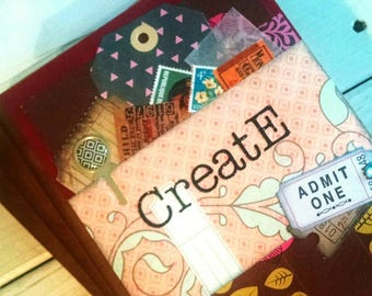 Create Journal Sketchbook Art Journal Keepsake with Unlined Pages