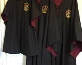 3 Harry Potter Gryffindor Robes