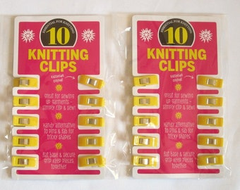 2 packs brand new knitting clips