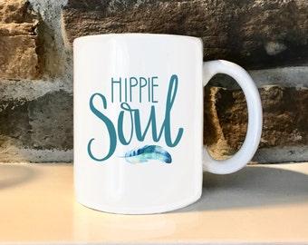 Hippie Soul  11 oz Coffee Mug