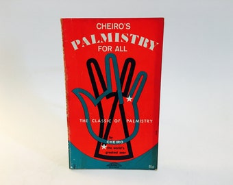 Vintage Occult Book Cheiro's Palmistry for All 1966 Paperback