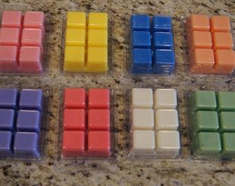 Handmade Wax Tart/Handcrafted Para-soy Wax Melts/Scented wax melt tarts/Handcrafted clamshell tart/