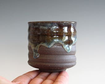 Tea Cup, Yunomi, handmade ceramic tea cup, pottery cup, wheel thrown, ceramics and pottery, cup by Kazem Arshi