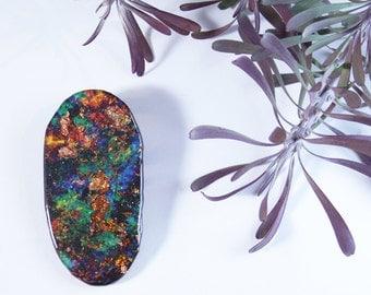 Lightning Ridge Opal Wearable Art Brooch by Winnifreds Daughter