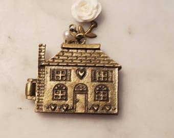 House Locket Bookmark