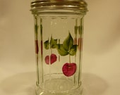 Hand Painted Sugar Shaker with Red Cherries - Special Order