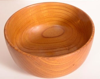 Mulberry Wood, Turned Wood Bowl, Salad Bowl, Serving Bowl,