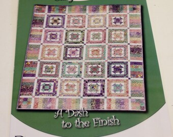 Classy Pattern: A Dash to the Finish Quilt  (New Pattern)