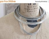 SHOP SALE Set of 3 Vintage Metal and Cork Embroidery Hoops