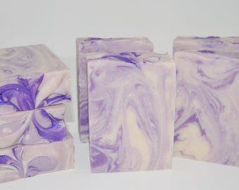 Black Raspberry Vanilla Handmade Cold process Soap