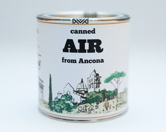 Original Canned Air From Ancona, Italy