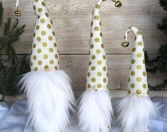 Christmas Gnome, Nordic Gnome, Scandinavian Gnome, Christmas Decoration, Farmhouse Christmas, Christmas Gift, Tomte, Nisse, Swedish Gnome