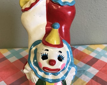 Vintage Norleans Clown Bank