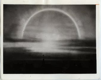 Surreal July 18 1943 Photo of a Sun Halo