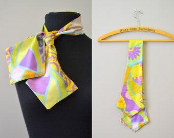 1960s Psychedelic Neck Tie Scarf