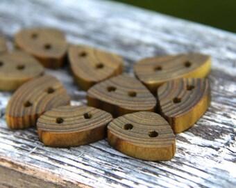 10 Tiny sumac buttons