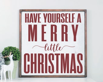 Incroyable Merry Christmas Wood Sign, Farmhouse Holiday Decor, Modern Farmhouse, Wood  Sign, Wooden