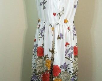 1970's Vintage Summer dress