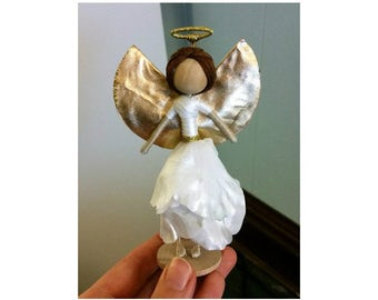 Angel Flower Fairy Doll