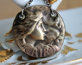 Air Goddess - Armand Bargas Air Element Necklace