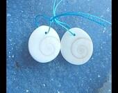 Conch Shell Earring Bead,17x15x5mm,4.3g