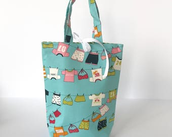 Fabric Gift Bag with Handles Medium - Lucy's Crab Shack