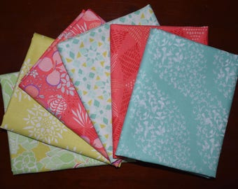 Canyon Fat Quarter Bundle of 6 by Kate Spain for Moda