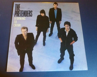 The Pretenders Learning To Crawl Vinyl Record 23980-1 Sire Records 1982