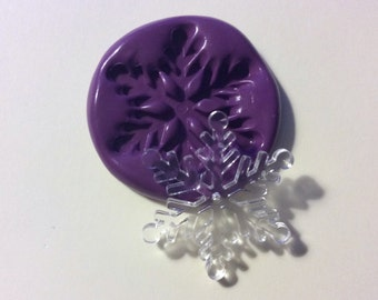 Snowflake  flexible silicone mold / mould