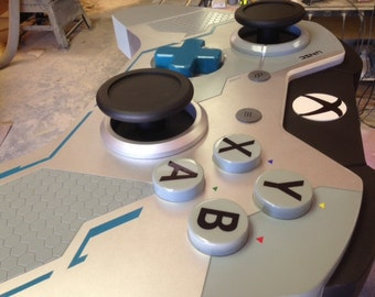 Clearance, Reduced, Handmade Game Controller Table, XBOX One inspired, Halo edition