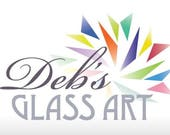 Deposit on 2 stained glass  window panels