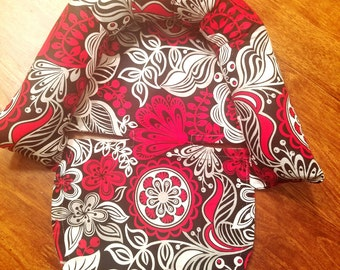 Carseat Canopy Head Support Only You Choose Cotton fabric