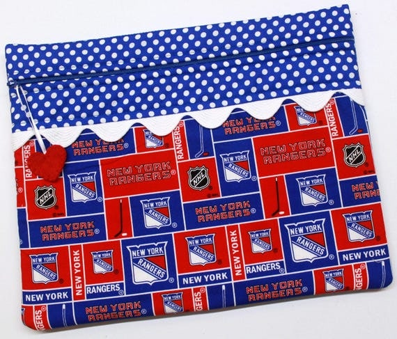 New York Rangers NHL Cross Stitch, Embroidery Project Bag