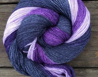 Hand Dyed Yarn, Gradient Yarn, Fingering Weight Yarn, Sock Yarn, 500 yards