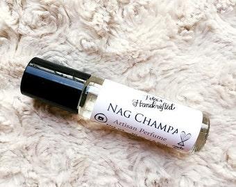 Nag Champa Artisan Perfume- Perfume/Cologne Oil-.30 oz