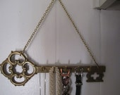 Brass Key Holder Organizer Storage for Keys Jewelry Hand Towels Leashes Utensils Made in Italy Ready to Hang Wall Art