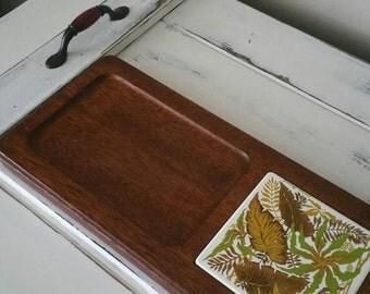 Georges Briard Cheese Board, Vintage Cheese Board, Georges Briard Tile, Vintage Serving, Vintage Home Decor, Vintage Kitchenware