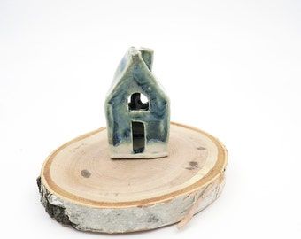 Mini House. Ceramic House. Pottery House. Modern Decor