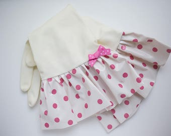 """Plain Jane """"Scatter Dots"""" Oilcloth Gloves - Latex Free - Not Just for Cleaning (Size Med or Large) - 12 Colors"""