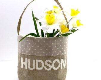 Personalized Easter Basket, Boys Easter Basket