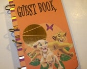 Guest Book, Lion King Birthday, Lion King Party, Sign in Book, Lion King Baby Boy Shower Guest Book, First Birthday