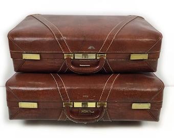 Vintage luggage set | Etsy