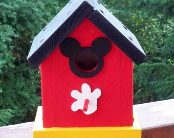 Mickey Mouse Birdhouse