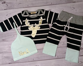 Baby boy clothes etsy baby boy clothes boy outfit personalized baby shower gift baby gift negle Images