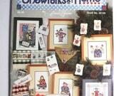 Craft Supply Destash - SnowFolks at Home by Jeanette Crews Designs (used pamphlet)