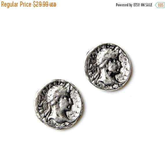 On Sale Roman Coin Cufflinks - Gifts for Men - Anniversary Gift - Handmade - Gift Box Included