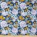 54055 - Joel Dewberry Wander collection PWJD115  Moon Garden in Midnight color - 1 yard