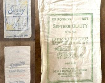 Vintage sugar bag